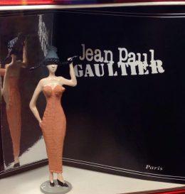 J.P.Gaultier robe gaine 1985