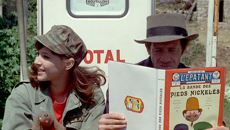 Movie inspiration  of the week – Pierrot Le Fou (1965)