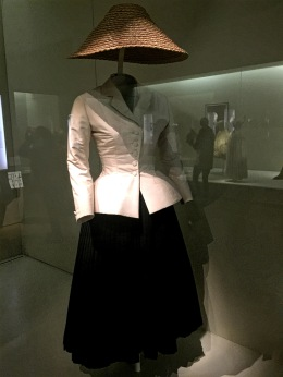 Christian Dior Bar Suit (1947; reproduction)